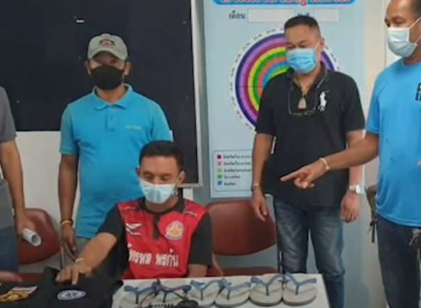Thailand Man Stole 126 Flip-Flops To Have Sex With Them