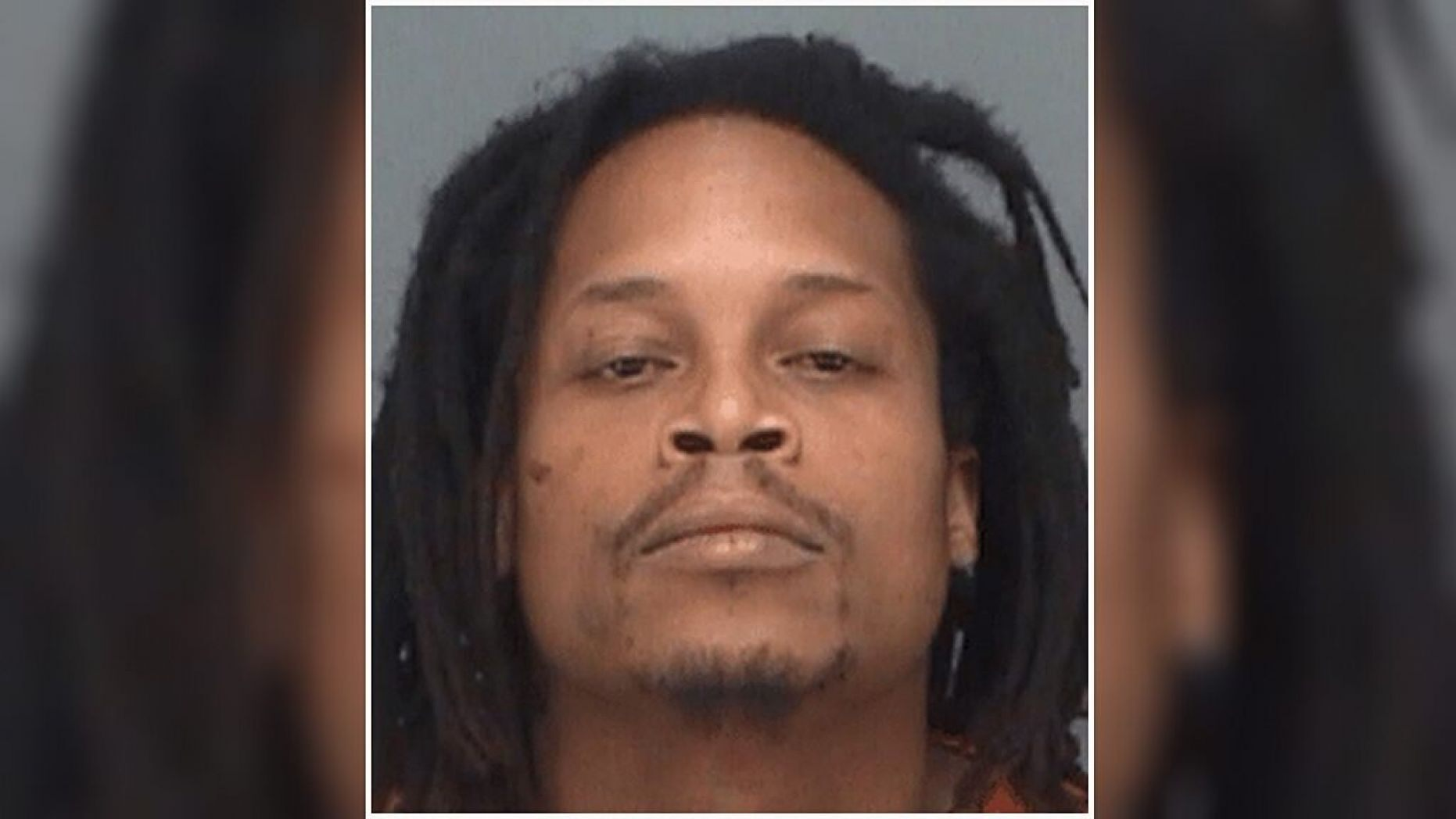 He allegedly spat inside the mouth of a policewoman. Photo - Pinellas County Sheriffs Office