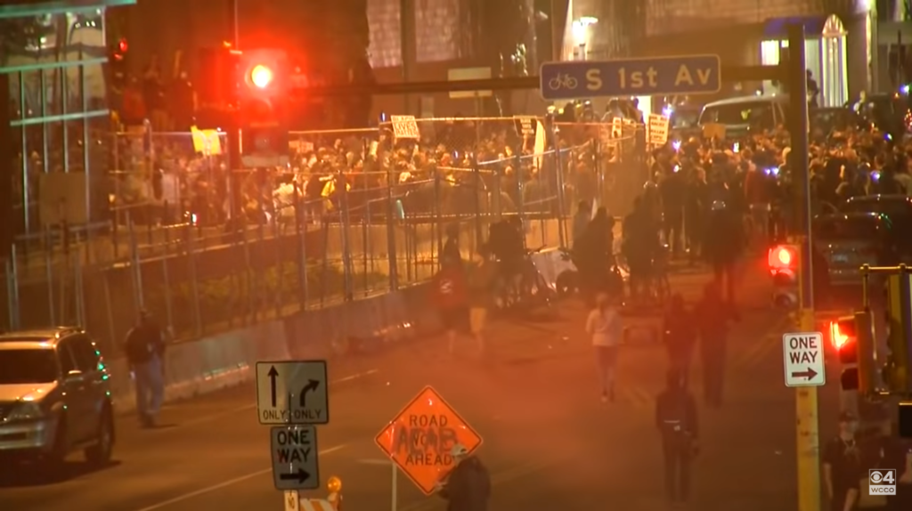 Riots have spread to every major American city. - Photo Youtube/WCCO